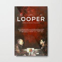 Looper Metal Print