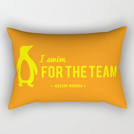 FOR THE TEAM - Hazuki Nagisa Rectangular Pillow