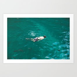 Float, Don't Sink Art Print