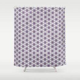 Asexual Flower Shower Curtain
