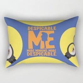 Gru, 3D animated movie poster, cartoon, children, minimalist playbill, Steve Carell Rectangular Pillow