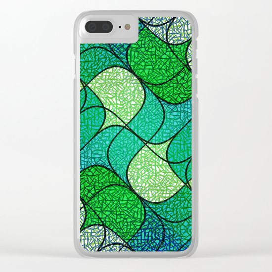 Pine needles Clear iPhone Case