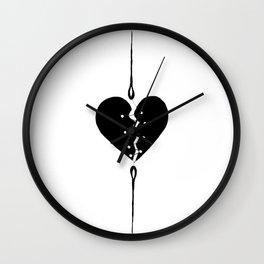Mending a Broken Heart Wall Clock