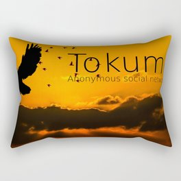 Tokumei Birds Rectangular Pillow