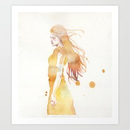 small piece 50 Art Print