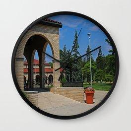 Lourdes University in the Spring II Wall Clock