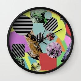 Geometric Chaos Wall Clock