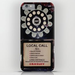 Public Telephone - case iPhone Case