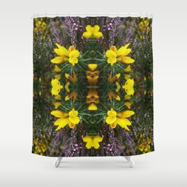 Gorse and Heather Shower Curtain