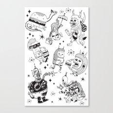 Frenemies Canvas Print