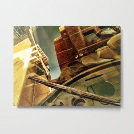 Windshield Metal Print