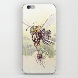 Cyborg Bee iPhone Skin