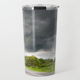 Biebrza road landscape Travel Mug