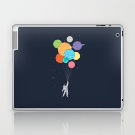 Planet Balloons Laptop & iPad Skin