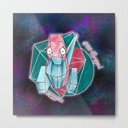 137 - Porygon Metal Print