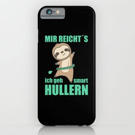 Sloths The Hulls Smart Hoop Sports Fault iPhone Case