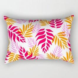 Floral Abstract 01 Rectangular Pillow