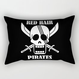 Red hair pirates Rectangular Pillow