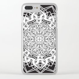 Kali Mandala 2 Clear iPhone Case