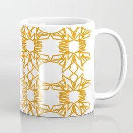Luxury mandalas gold--white Monograms Coffee Mug