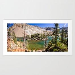 Colorado Pictures - Lake Agnes Art Print