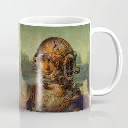 Steampunk Mona Lisa - Leonardo da Vinci Coffee Mug