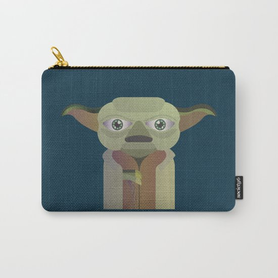 Yoda flat Carry-All Pouch