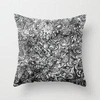 island Throw Pillows featuring Island by C Z A V E L L E
