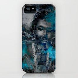 Krishna The mischievous one - The Hindu God iPhone Case