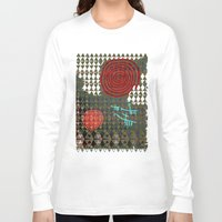 history Long Sleeve T-shirts featuring History layers by Menchulica
