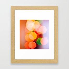 Multicolored Framed Art Print