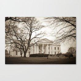 The White House :: Washington DC Canvas Print