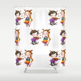 Faun!Lolly Shower Curtain