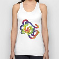 swag Tank Tops featuring Swag by Haze Design