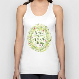 Have A Great Day! Unisex Tank Top