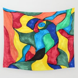 Stained Glass Eye Wall Tapestry