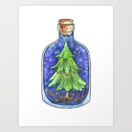 Bottled Balsam Art Print