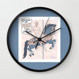The Brass Ring 2 Wall Clock
