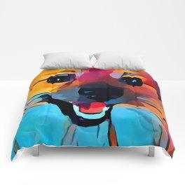 Pomeranian 2 Comforters
