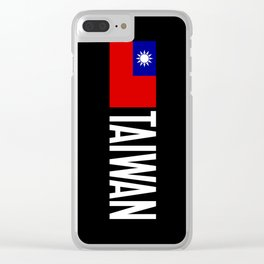 Taiwan: Taiwanese Flag & Taiwan Clear iPhone Case