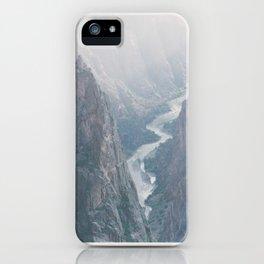 Black Canyon of the Gunnison, Colorado iPhone Case