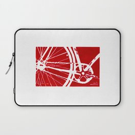 Red Bike Laptop Sleeve