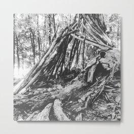 Elephant Bones Metal Print