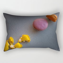 The Art of Food Macaron Crunch Rectangular Pillow
