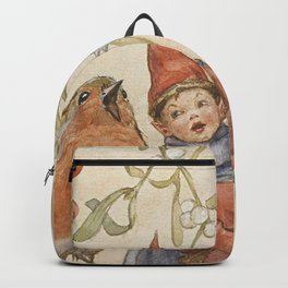 """A Christmas Duet"" by Margaret Tarrant Backpack"