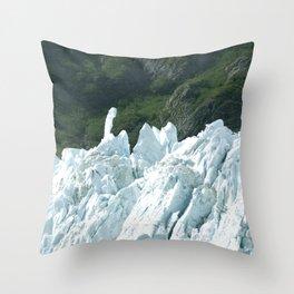 Spectacular Iceberg Floating Close To the Alaskan Shore Throw Pillow