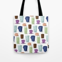 Drinks in Cups Tote Bag