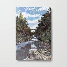 Quechee Gorge Metal Print
