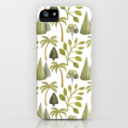 Watercolor Forrest iPhone Case