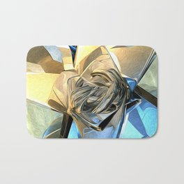 Abstract Macro Structure Bath Mat